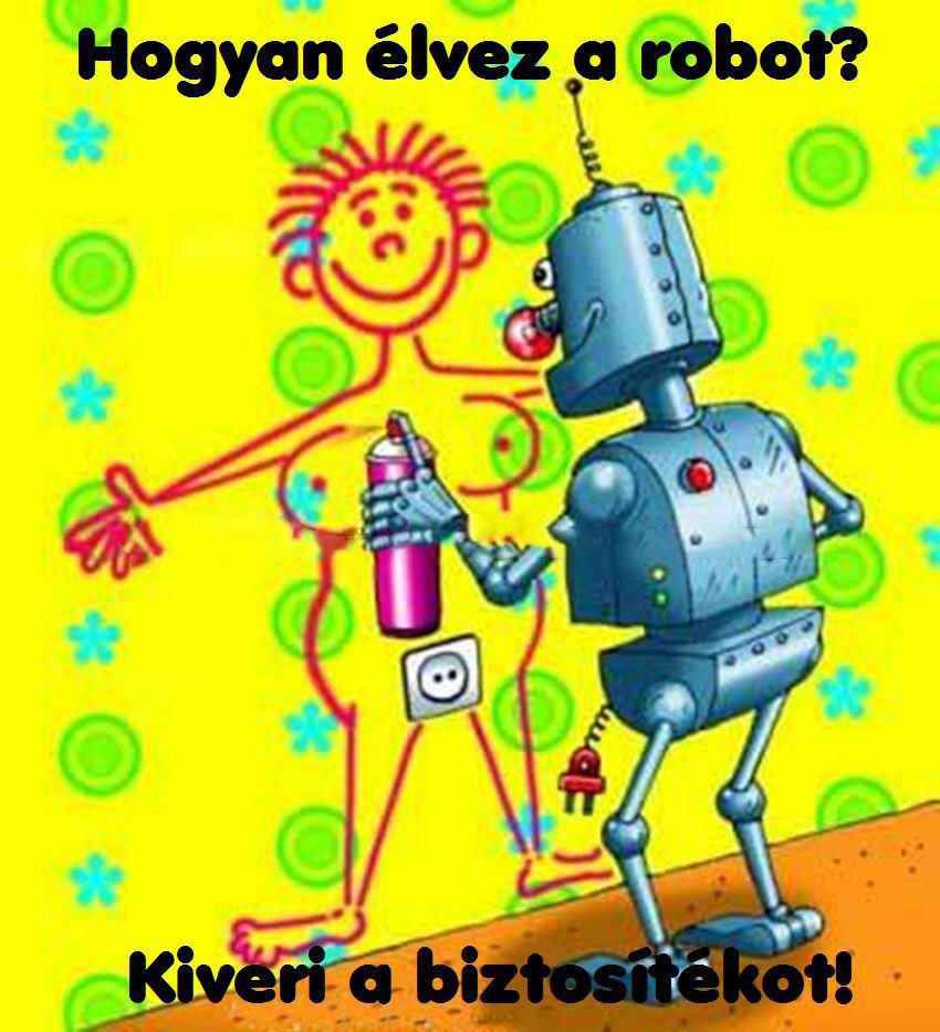 Funny picture Robot Sex.