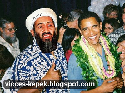 Obama és Bin Laden